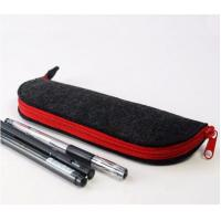 Wholesale Popular Europe eco-friendly felt pencil case for school students from china suppliers