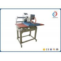Automatic Pneumatic T Shirt Printing Equipment Double Station Textile