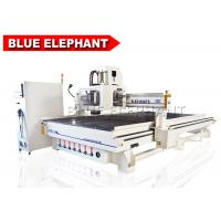 Buy cheap ELE 2140 atc cnc cabinet processing machine with 9kw hsd air cooling automatic tool change spindle from wholesalers