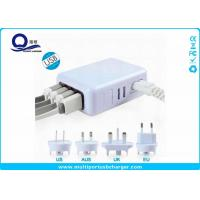 Wholesale Portable Multiple Port Usb Phone Charger Outlet USA / AUS / UK Plug Cables from china suppliers