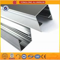 Wholesale Machinery Polished Aluminium Profile Silver White High Surface Brightness from china suppliers