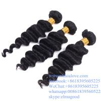Wholesale 100% Unprocessed Full Cuticle Tangle Free Loose Deep Wave 7a Grade Brazilian Virgin Hair from china suppliers