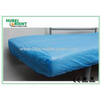 Wholesale Breathable CPE  Disposable Bed Protectors Hospital Bedding Sheets from china suppliers