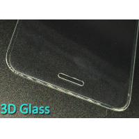 Quality Full Cover 3D Curved Screen Protector , Asahi Tempered Glass IPhone 7 Plus Screen Protector for sale