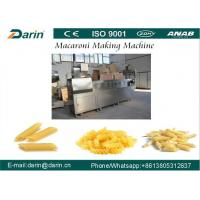 Quality Automatic Pasta Maker Machine / Pasta Processing Machine with Different Snack Shapes for sale