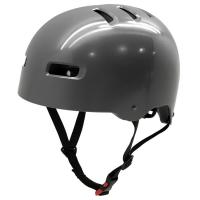 Wholesale Hard shell ABS youth skate board helmet, black roller skating helmet for adult from china suppliers