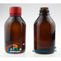 Wholesale amber chemical reagent glass bottle of 250ml from china suppliers