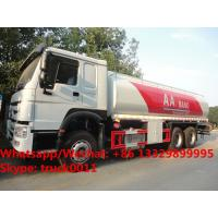 Wholesale HOT SALE!high quality and bottom price SINO TRUK HOWO 20,000Liters bulk oil tank truck/ diesel tank delivery truck from china suppliers