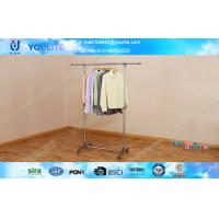 Quality heavy duty clothes rack clothes hanging rack single pole clothes rack industrial clothes rack for sale