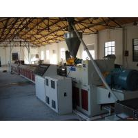 Wholesale wpc decking extrusion machinery from china suppliers