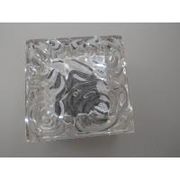 Wholesale 7*7cm crystal led solar ice brick light from china suppliers