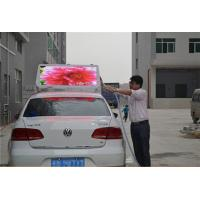 Wholesale Double Sides Advertising Taxi Top LED Display Full Color , P6 Led Taxi Roof Signs Waterproof from china suppliers