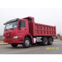 Double T - Cross Section Beam Mining Dump Truck Euro 3 For Heavy Duty Transportation