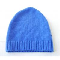 Wholesale Autumn Warm Merino Wool Cashmere Hat , Adults Knitted Crochet Rib Hat from china suppliers