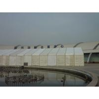 Wholesale Large Marquee Second Hand Tent Open Exhibition , Most Waterproof Tent White from china suppliers