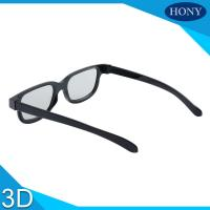 Quality Plastic Circular Polarised 3D Glasses Passive Polarizing Glasses For Cinema Use for sale