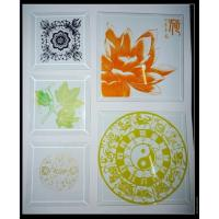 Wholesale Screen Printed Glass Decorative Glass modern design interior design from china suppliers