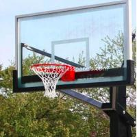 Wholesale Ultra Clear 15mm Outdoor Tempered Glass Composite Basketball Backboard from china suppliers
