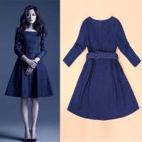 Wholesale zara women denim dress winter women dress with factory price from china suppliers