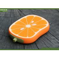 Wholesale Orange Shaped Cell Phone Power Bank , Iphone 5s / 6 / 6s Power Bank from china suppliers