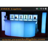 Wholesale modern Led Furniture lighting  table counter LED bar table from china suppliers