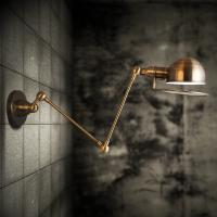 Quality Adjustable Arm Brass Decorative Wall Sconce for hotel for sale