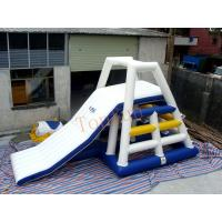 Wholesale White Blue Floating Water Slide Inflatable Tower Blob For Aqua Park from china suppliers