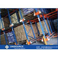 Wholesale Massive Storage Blue Radio Shuttle Racking System For Industrial Warehouse from china suppliers