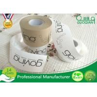 Wholesale Brown / White Color Kraft Paper Tape Customized Reinforced Gummed Kraft Paper Tape from china suppliers