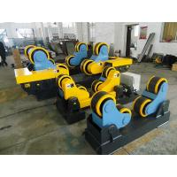 Buy cheap 40 T Steel / Rubber Pipe Welding Rotator with Remote Hand Control Box 3kw Motor Power from wholesalers