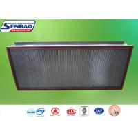 Wholesale AHU System High Temp Hepa Filter Efficiency H13 H14 0.3um Particulate from china suppliers