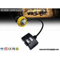 Buy cheap Hard Hats Coal Mining Lights 15000lux LED Mining Cap Lamp Ultra Bright from wholesalers
