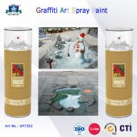 Wholesale 400ml Canned Environmental Fast Drying Graffiti Spray Art Paint for Artist On Metal Wood from china suppliers