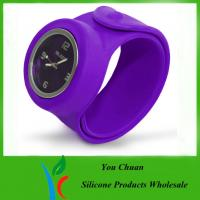 Wholesale Slap Band Wristwatch / Snap Watch Bands / Slap Watches For Boys / Girls from china suppliers