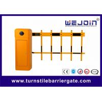 Quality Long Arm Boom Parking Barrier Gate , Tubular Barrier Gates 1s 1.8s 3s 6s for sale