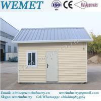 Buy cheap Hot sale prebabricated container house with pvc exterior wall cladding and insulation panel from wholesalers