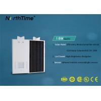 Wholesale All In One Solar Powered Road Lights Last 4 Rainy Days Phone App Control from china suppliers