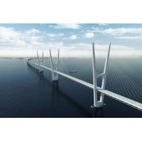 Wholesale Steel Structure Cable Stay Bridges , Compact Cantilever Truss Bridge from china suppliers