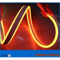 Wholesale high quality 230V double side orange led neon flex light for buildings from china suppliers