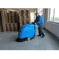Wholesale Blue Color Battery Floor Scrubber / Full Automatic Floor Cleaning Equipment from china suppliers