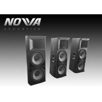 Wholesale Powered Conference Hall Sound System 37 Hz-20 KHz With Birch Plywood from china suppliers