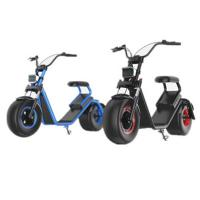 Wholesale Popular 1200W Motor Harley Citycoco Lithium Battery Electric Scooter from china suppliers