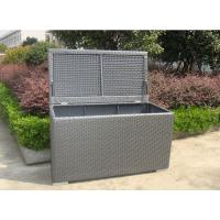 Wholesale Grey Resin Wicker Storage Box from china suppliers