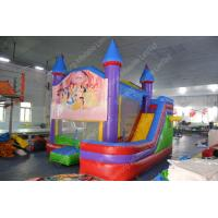 Wholesale Mini Inflatable Bouncy Castle / bounce house With Slide For Amusement Park from china suppliers