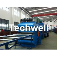 Wholesale 24m Upper & Bottom Conveyor Continuous PU Sandwich Panel Forming Machine from china suppliers