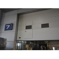 Wholesale Finger protect  Insulated Sectional Overhead Doors with safety bottom airbag design from china suppliers