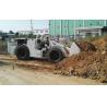 Buy cheap Underground Mining Load Haul Dump Machine Orange / White / Yellow from wholesalers