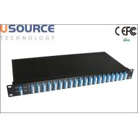 Wholesale 16ch 24ch 32ch 100G DWDM Mux Demux module for CATV Optical System from china suppliers
