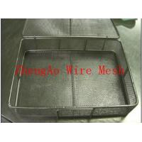 Wholesale professional produce stainless steel wire mesh basket from china suppliers
