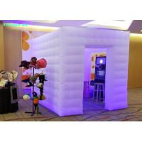 Wholesale Advertising Inflatable Led Cube Photo Booth with Blower for Sale from china suppliers